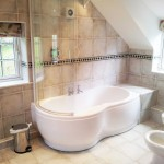 North York Moors Cottages ensuite master bathroom